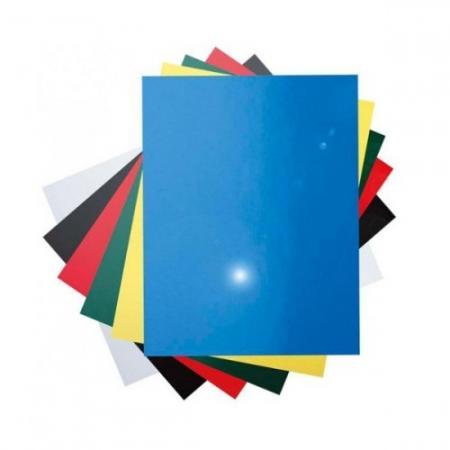 все цены на Обложка для переплетов Fellowes Lamirel A4 250г/м2 красный 100шт LA-7868601 онлайн