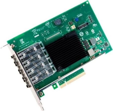 Адаптер Intel X710-DA4 X710DA4FHBLK 932576 цена и фото