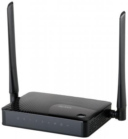 Беспроводной маршрутизатор Zyxel Keenetic Omni II 802.11bgn 300Mbps 2.4 ГГц 4xLAN USB черный