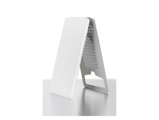 все цены на  Чехол универсальный iBox UNI-FLIP для телефонов 3.8-4.2 дюйма белый  онлайн
