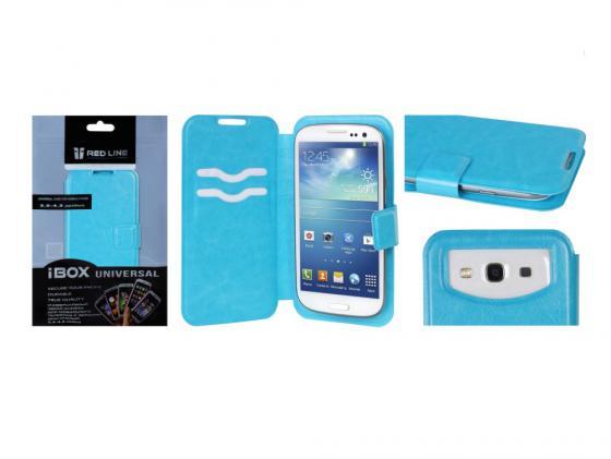 Чехол универсальный iBox Universal для телефонов 3.5-4.2 дюйма голубой universal 3 in 1 0 67x wide macro lens 180 degrees fish eye lens for cellphone silver