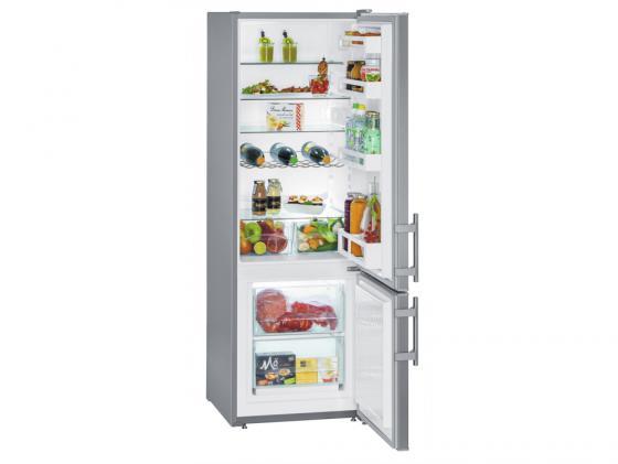 Холодильник Liebherr CUsl 2811-20 001 серебристый холодильник liebherr cuwb 3311 20 2кам 210 84л 181х55х63см серый