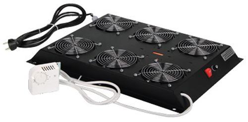 Вентиляторный модуль Estap M55HV6FSTB 6 вентиляторов для шкафов ServerMAX черный цена и фото