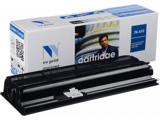 Картридж NV-Print TK-410 для Kyocera KM-1620/1635/1650/2020/2050 15000стр 3pcs oem new compatible for kyocera km 1620 1650 2020 2050 1635 2035 2550 thermistor printer parts