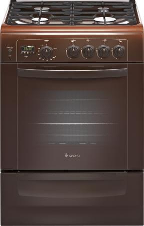 Газовая плита Gefest ПГ 6100-04 0003 коричневый все цены