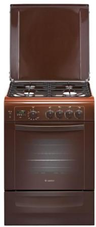 Газовая плита Gefest ПГ 6100-04 0001 коричневый плита газовая gefest 6100 03 0001 6100 03 к