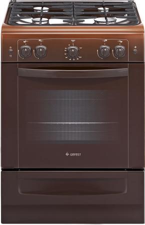 Газовая плита Gefest ПГ 6100-02 0010 коричневый gefest 6100 02 0010