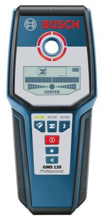 Детектор металла Bosch GMS 120 Prof детектор bosch pmd 7