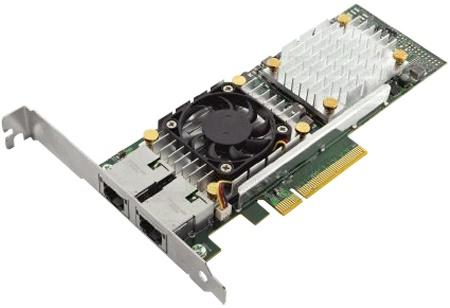 Адаптер Dell 57810 DP Broadcom 10Gb BT Converged Network Adapte Low Profile 540-11152 адаптер dell nic broadcom 57810 dp 10gb base t network interface card 540 bbgu