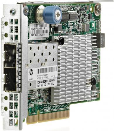 Адаптер HP 534FLR-SFP+ 10Gb 2P 700751-B21 адаптер hp 570flr sfp ethernet 10gb 2p 717491 b21