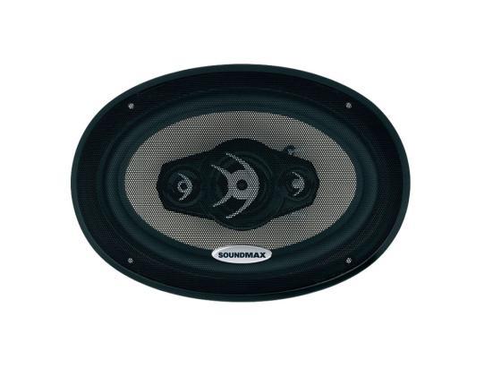 Автоакустика Soundmax SM-CSA694 коаксиальная 4-полосная 15-23см 120Вт-240Вт автоакустика supra ssb 4 коаксиальная 2 полосная 10см 30 120вт