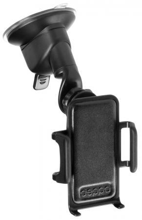 Фото - Автомобильный держатель универсальный Deppa Crab 4 присоска универсальный жесткая штанга 55104 car holder crab iq for smart phone 4 6 5 deppa