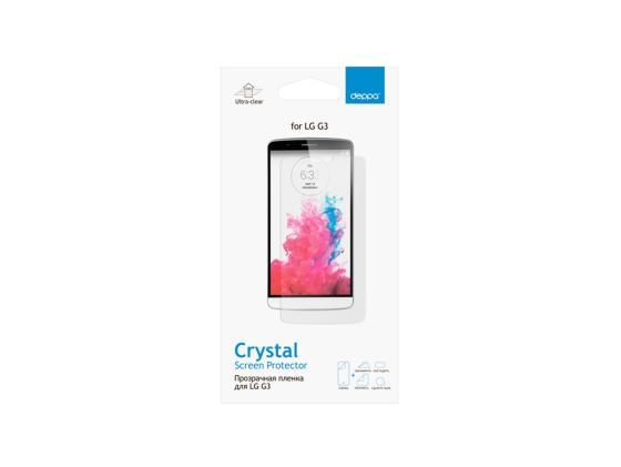 все цены на Защитная пленка Deppa для LG G3S прозрачная 61356 онлайн