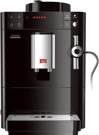 Кофемашина Melitta Caffeo Passione F 530-102 1450 Вт черный кофемашина melitta caffeo passione [f 531 102]