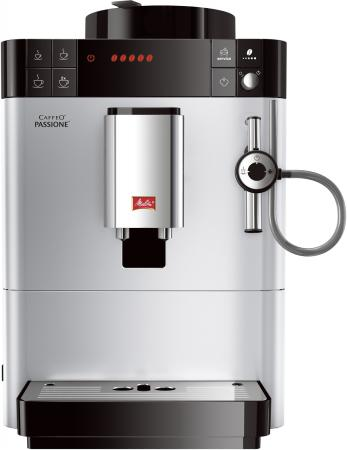 Кофемашина Melitta Caffeo Passione F 530-101 1450 Вт серебристый кофемашина melitta caffeo passione [f 531 102]