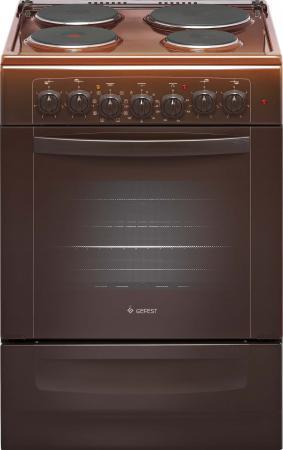 Электрическая плита Gefest ЭПНД 6140-02 0001 коричневый газовая плита gefest пгэ 6102 02 0001 электрическая духовка коричневый