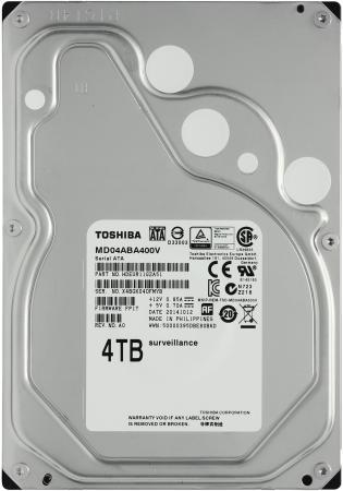 """Жесткий диск 3.5"""" SATA 4Tb 5900rpm 128Mb Toshiba MD04ABA400V жесткий диск 4tb toshiba n300 hdwq140uzsva"""