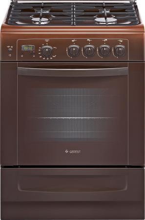 Газовая плита Gefest ПГ 6100-03 0001 коричневый плита газовая gefest 6100 03 0001 6100 03 к