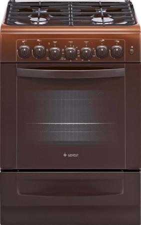 Комбинированная плита Gefest ПГЭ 6102-02 0001 коричневый комбинированная плита gefest пгэ 5102 02