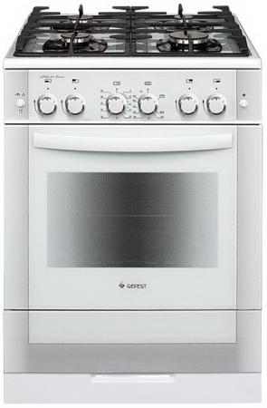 Газовая плита Gefest ПГ 6500-02 0042 белый цена