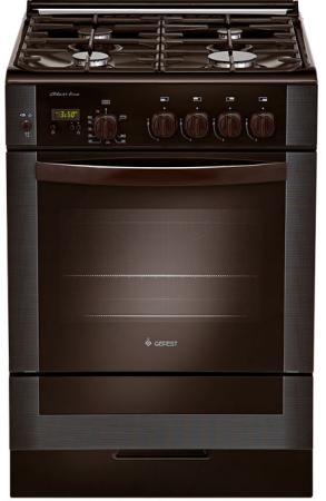 лучшая цена Газовая плита Gefest ПГ 6300-03 0047 коричневый