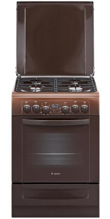 Комбинированная плита Gefest ПГЭ 6102-03 0001 коричневый комбинированная плита gefest пгэ 6102 02 0001