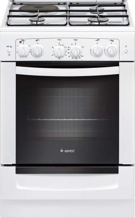 Комбинированная плита Gefest ПГЭ 6110-02 белый минипечь gefest пгэ 120 пгэ 120