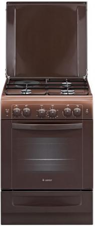 Комбинированная плита Gefest ПГЭ 6110-02 0001 коричневый комбинированная плита gefest пгэ 5102 02