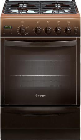 Газовая плита Gefest ПГ 5100-03 0003 коричневый газовая плита gefest брест пг 5100 03