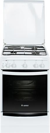 Комбинированная плита Gefest ПГЭ 5110-01 белый газовая плита gefest пгэ 5110 02 газовая духовка белый