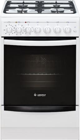Комбинированная плита Gefest ПГЭ 5102-03 0023 белый цена в Москве и Питере
