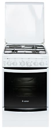 Комбинированная плита Gefest ПГЭ 5110-02 белый комбинированная плита gefest пгэ 6102 02 0001