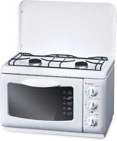 Комбинированная плита Gefest ПГЭ 120 белый цена и фото