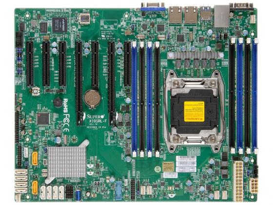 Материнская плата Supermicro X10SRL-F Socket 2011-3 C612 8xDDR4 — — — 10xSATAIII ATX Retail MBD-X10SRL-F-O 100pcs power dual lighted snap in o f rocker switch kcd212