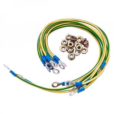 Комплект заземления HP V142 Rack Grounding Kit AF040A free shipping maintenance kit for hp 4250 4350 4240 q5421a 110v q5422 67903 220v 100