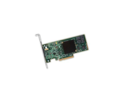 Контроллер LSI SAS 9341-8I SGL LSI00407 контроллер lsi sas 9271 8i sgl lsi00330
