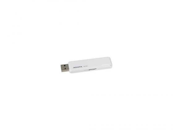 Флешка USB 16Gb A-Data UV110 USB2.0 AUV110-16G-RWH белый 1pcs right angle 90 degree usb 2 0 a male female adapter connecter for lap pc wholesale drop shipping