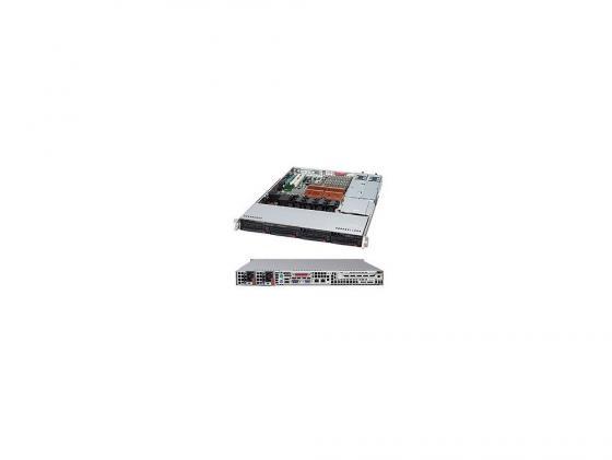 все цены на Серверный корпус Supermicro CSE-815TQ-R500CB 1U 4x3.5'' 500Вт черный