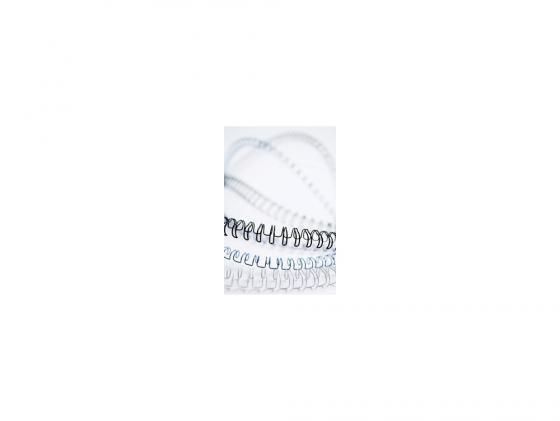 цена на Пружина металлическая Fellowes FS-53258 8мм белый 100шт