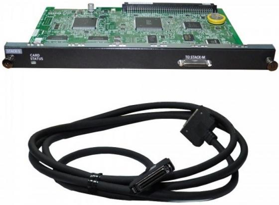 Плата стековая Panasonic KX-NS0131X для установки в NCP атс panasonic kx tem824ru аналоговая 6 внешних и 16 внутренних линий предельная ёмкость 8 внешних и 24 внутренних линий