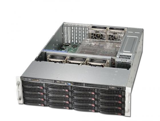 Серверный корпус Supermicro CSE-836BE26-R920B 3U E-ATX 16x3.5'' HotSwap 920Вт cse 745tq r920b