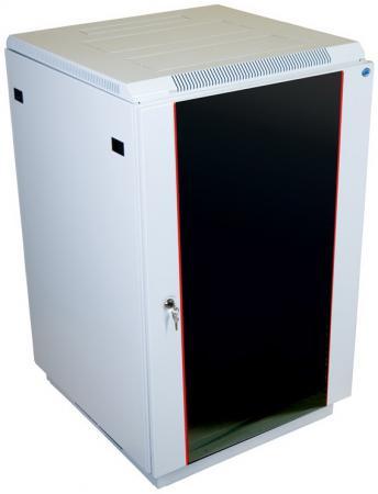 Шкаф напольный 27U ЦМО ШТК-M-27.6.8-1AAA 600x800mm дверь стекло