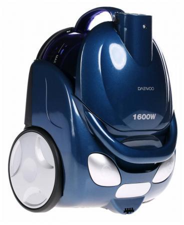 Пылесос DAEWOO RCC-154SA сухая уборка синий пылесос daewoo rcc 601ba 1600вт черный