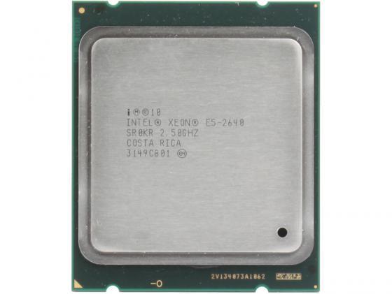 Процессор Intel Xeon E5-2640 2.5GHz 15Mb LGA2011 OEM процессор intel xeon e5 1620v2 cpu z9pa u8