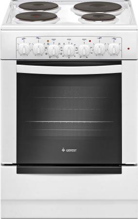 Электрическая плита Gefest ЭПНД 6140-02 белый цена и фото