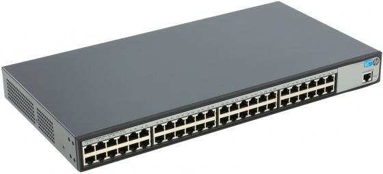 Коммутатор HP 1620-48G управляемый 48 портов 10/100/1000Mbps JG914A коммутатор hp 1850 управляемый 48 портов 10 100 1000mbps jl171a