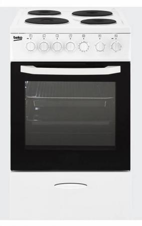 Электрическая плита Beko CSS 46100 GW белый