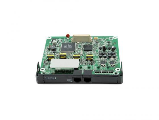 Плата расширения Panasonic KX-NS5170X 4-портовая плата цифровых гибридных внутренних линий DHLC4 плата расширения panasonic kx ns5171x