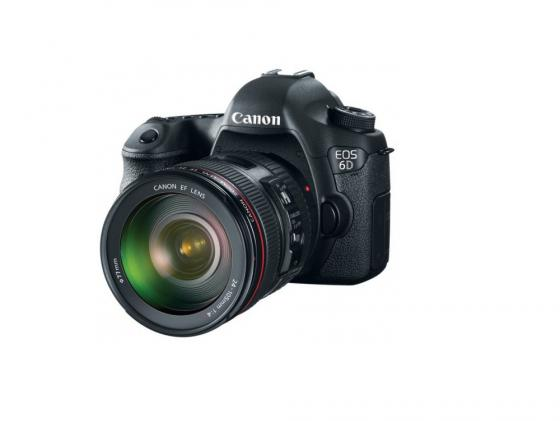 Зеркальная фотокамера Canon EOS 6D 24-105 IS 20.2Mp черный 8035B108 canon canon eos 6d 24 105