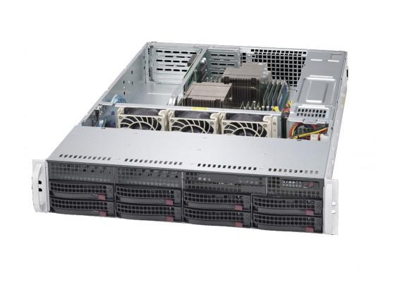 Серверная платформа Supermicro SYS-6028R-TRT тент tramp trt 104 04 green 3x3m